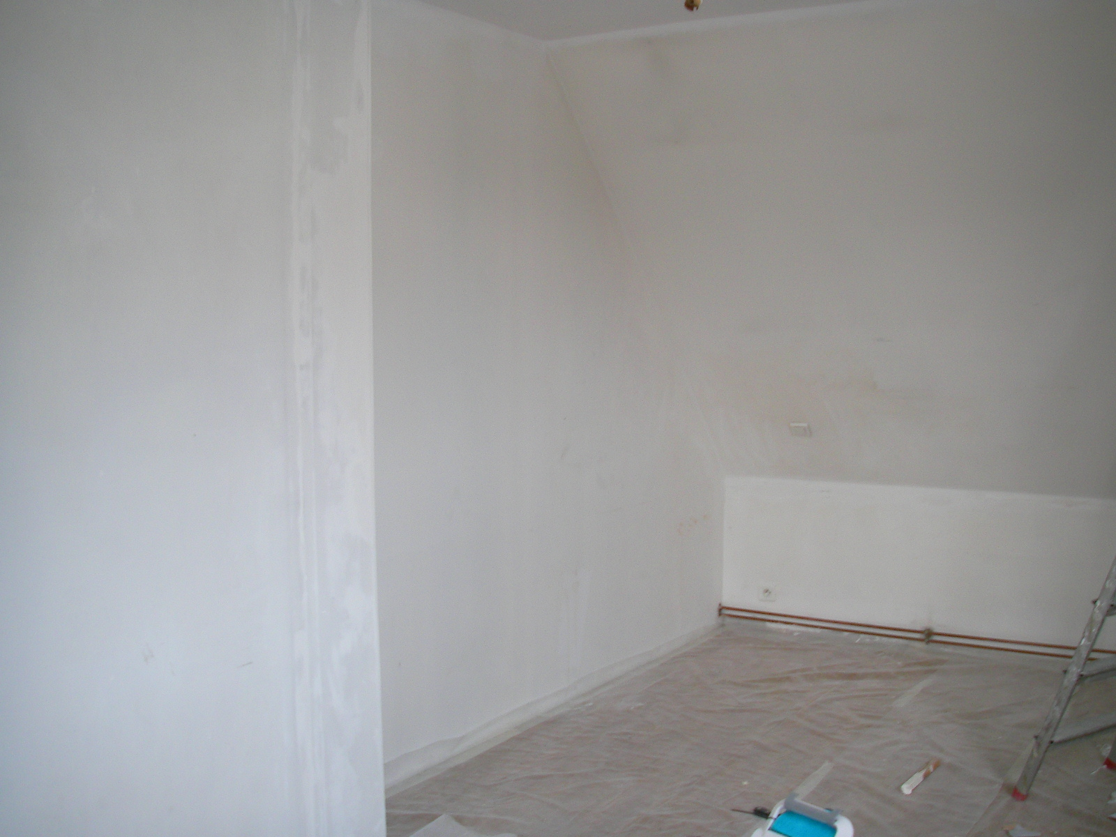 Chambre vert anis et beige for Deco chambre vert anis