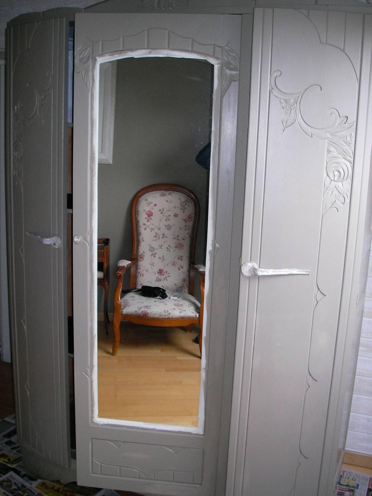 chambre ancienne relook e id e inspirante pour la conception de la maison. Black Bedroom Furniture Sets. Home Design Ideas