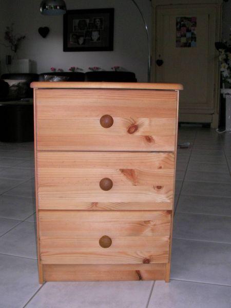 la d co de laetitia table de chevet. Black Bedroom Furniture Sets. Home Design Ideas